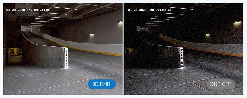 3D Digital Noise Reduction (3D DNR)