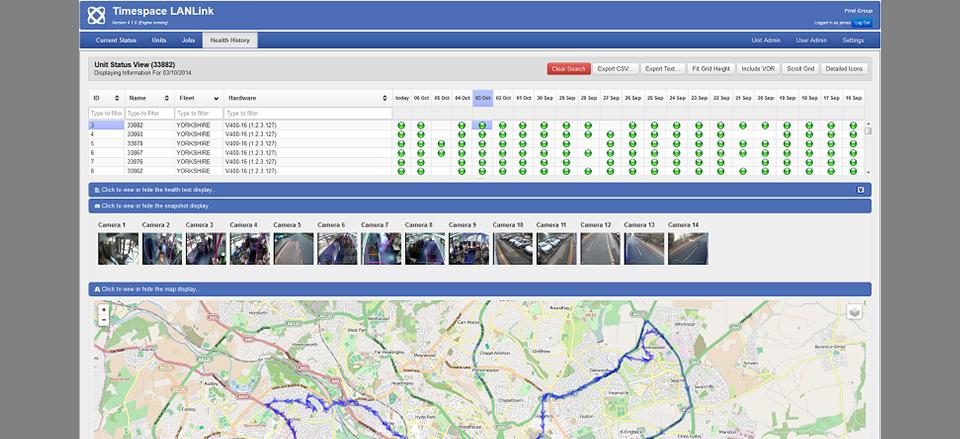 LANLink Suite Software Timespace