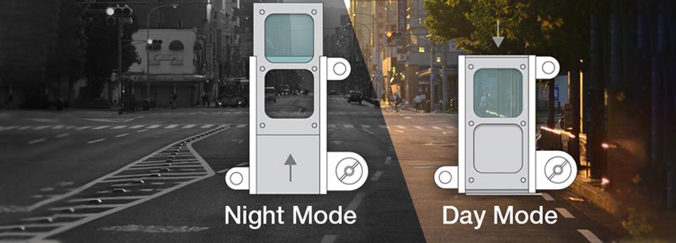 True Day / Night mode